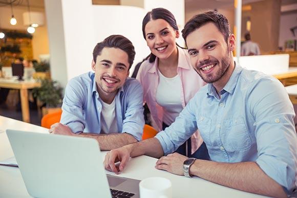 social marketing team